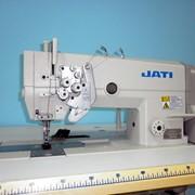 """Швейная машина(двухигольная) с отключением игл JATI JT-6875-005 (6,4мм) 1/4"""" фото"""