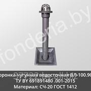 Воронка водосточная чугунная ВЛ-100.900 фото