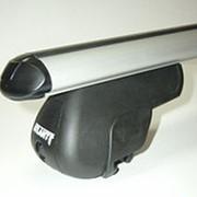 Багажник на крышу Форд Эксплорер (Ford Explorer) 2002-2006, аэродинамические поперечины на рейлинги ATLANT 8810+8828 фото