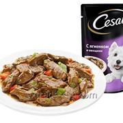 Пауч CESAR® с ягненком и овощами 100 г фото