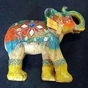 Сувенир Слон 2451 21,5х22 см. фото