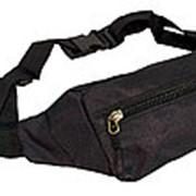 Поясная сумка №19 черный фото