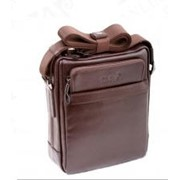 Мужской планшет из натуральной кожи Wanlima 2360016 коричневый фото