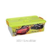 Ящик для игрушек 30л. Формула-2 3185м фото