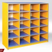 Шкафчик для горшков, мебель для детского садика, мебель в садик. фото