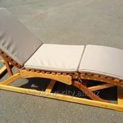 Лежак пляжный фото