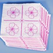 Салфетки бумажные однослойные фото