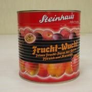 Фруктовое пюре консервированное Персик-маракуйя, Steinhaus фото