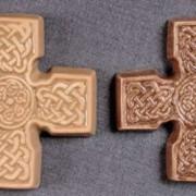 Настенные кресты, керамика фото