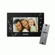 Видеодомофон цветной Kocom KCV-A374SD+KC-MC20 фото