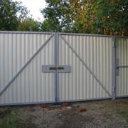 Ворота алюминиевые фото