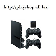 Приставка игровая PS 2 90004 Pal Black +10 дисков+ memory 8MB фото