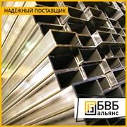 Труба алюминиевая профильная 100х100х2 АД31Т1 фото