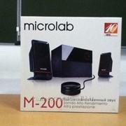 Колонки Microlab M-200 фото