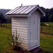 Откачивание уличного туалета. фото