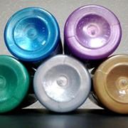 Краска-колер акриловая (металлик, перламутр) фото