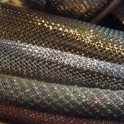 Кабельная оплетка для декора, золотистая, Mylar ⌀6 мм, 1 метр фото