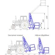 Платформа навесная на трактор «Беларус» ПГММ – 7 фото