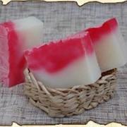 Натуральное цветочное мыло фото