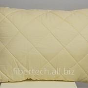 Подушка спальная однотонная 68*48 хлопок (сатин)