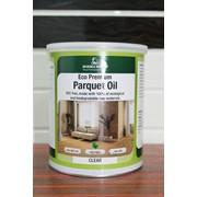 Паркетное масло, Eco Premium Parquet Oil, прозрачное, 1 литр фото