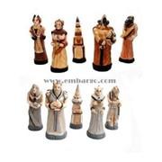 """Шахматы """"FANTAZY"""" (Intarsia) фото"""