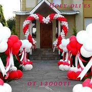 Оформление воздушными шарами в Караганде фото