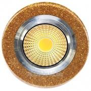 Светодиоды точечные LED QX GOLD ROUND 3W 5000K фото