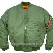 Куртка - цвет олива фото