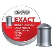 Пули пневматические EXACT Monster Diabolo 4,5 мм 0,87 грамма (400 шт.) headsize 4,52 мм фото