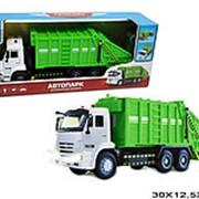 Модель металлическая машина камаз мусоровоз 21-1001 фото