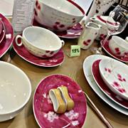 Сервиз фарфоровый. столовый, чайный на 12 персон, высший сорт фото