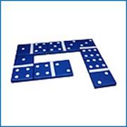Мягкие игровые модули - домино игровое фото