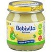 Пюре Bebivita Кабачок, с 4 мес 100 гр фото