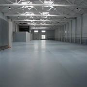 Полы для складов бетонные фото