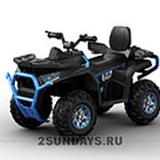 Детский электроквадроцикл BARTY T007MP синий фото