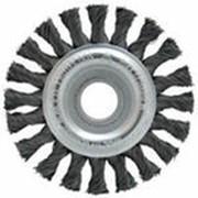 Щетка дисковая жгутовая фото