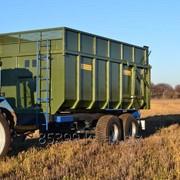 Тракторный самосвальный прицеп ТСП-16 к Т-150 фото