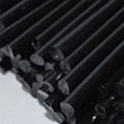 Пруток винипластовый черный 45х2000 мм фото