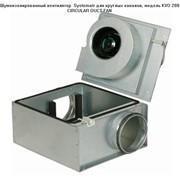 Шумоизолированный вентилятор Systemair KVO 200 фото