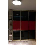 Покраска стекла, покраска стека для шкафов купе. фото
