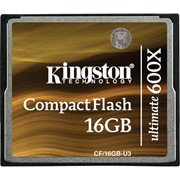 Карта памяти Kingston CompactFlash Card 600x 16 Гб (CF/16GB-U3) фото