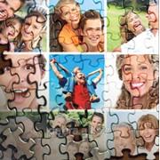 Пазлы с фотографиями А4 (120 единиц) фото