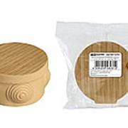 Распаячная коробка ОП D65х40мм, крышка, сосна, IP54, 4вх. инд. штрихкод TDM фото