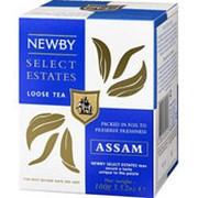 Чай черный NEWBY Assam листовой, 100 г фото
