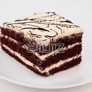 Пирожное с начинкой фото