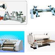 Линии по производству гофрированного картона DW 1400/1600/2000 продажа монтаж поставка фото