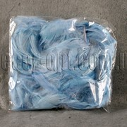Перья голубые 12 гр 006898 фото