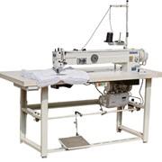 Швейная машина с увеличенным вылетом рукава для настрачивания этикеток на матрас строчкой зигзаг SM-1800H фото