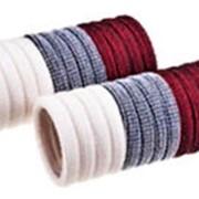 Резинка 904777 BBox тканая д/волос d=3,5 см 3х цветн. микс в уп. 24 шт. ( цена за 1 уп.) фото